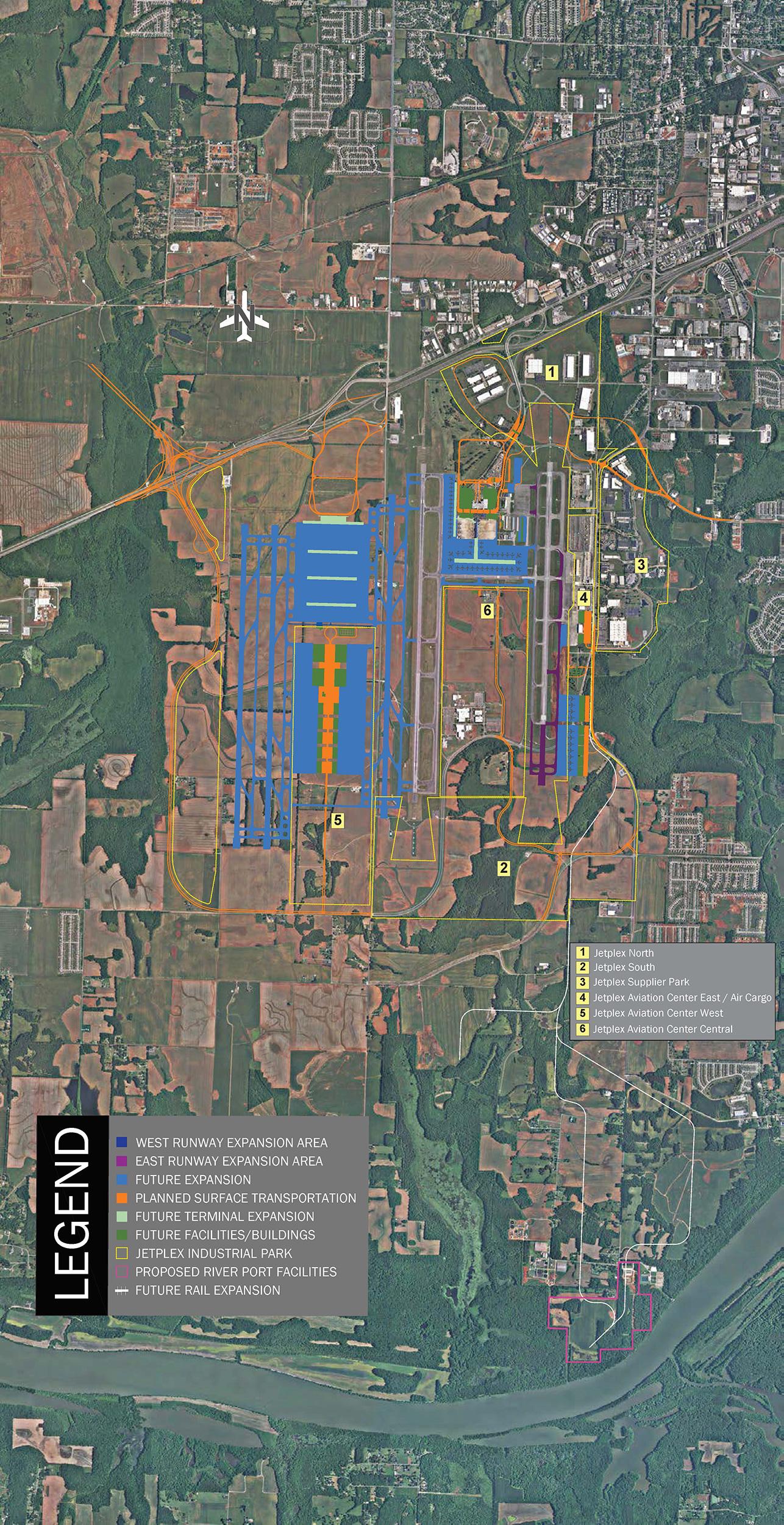 Jetplex Industrial Park Master Plan Map 2020