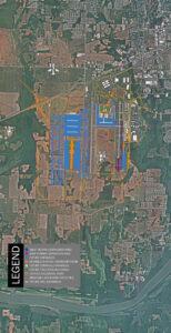 Port of Huntsville Master Plan Aerial Map 2020